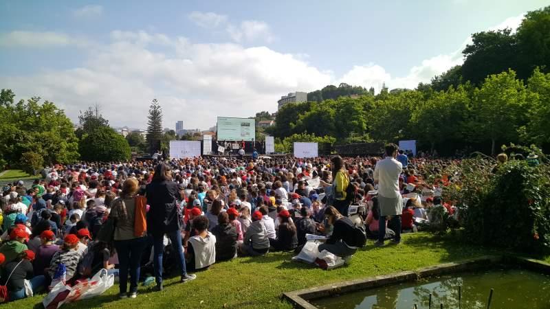Escenario Premios da Escola Faro de Vigo