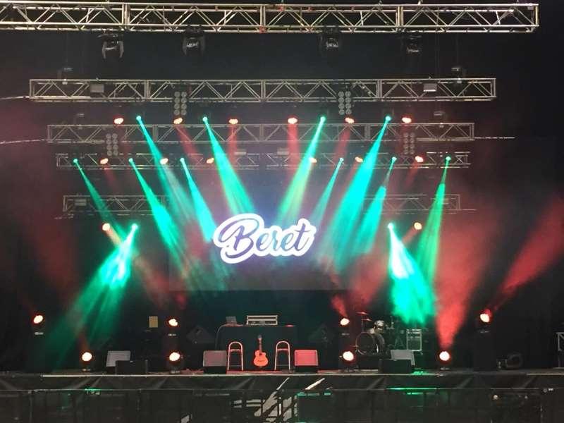 Concierto de Beret en el Coliseum de A Coruña