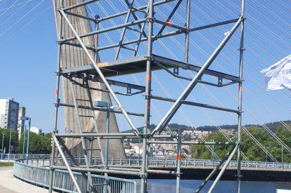 Torres Para Eventos. Triatlón Pontevedra 2019